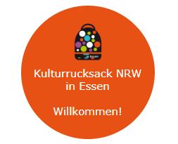 Zur Website Kulturrucksack in Essen, Grafik: Babette Winkelmann