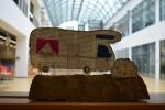 """Fotos Kunstwerke der TeilnehmerInnen beim KunstWorkshop """"Papierwelten"""" mit Radmila Grinberg"""